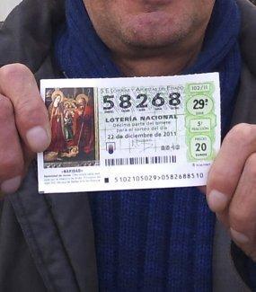 Gordo de la Loteria de Navidad
